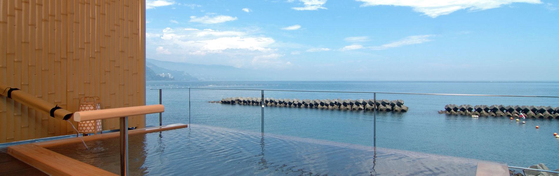 熱海温泉湯の宿平鶴 天然温泉かけ流しのお湯