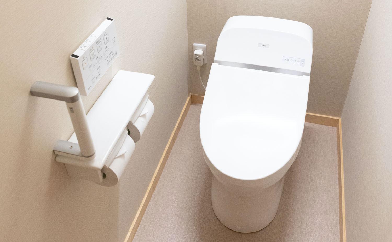 熱海温泉湯の宿平鶴 客室お手洗い
