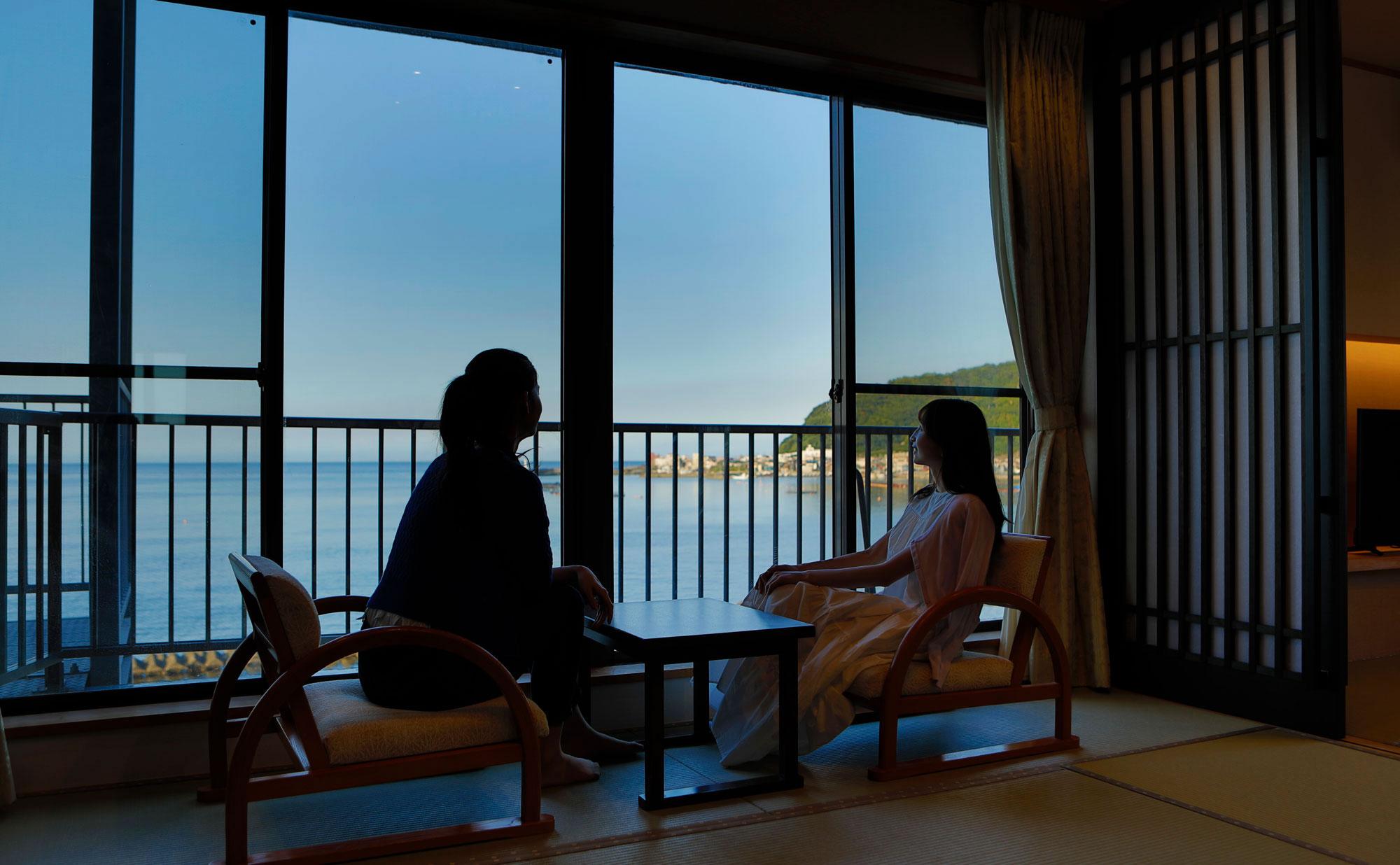 熱海温泉湯の宿平鶴 オーシャンフロント客室