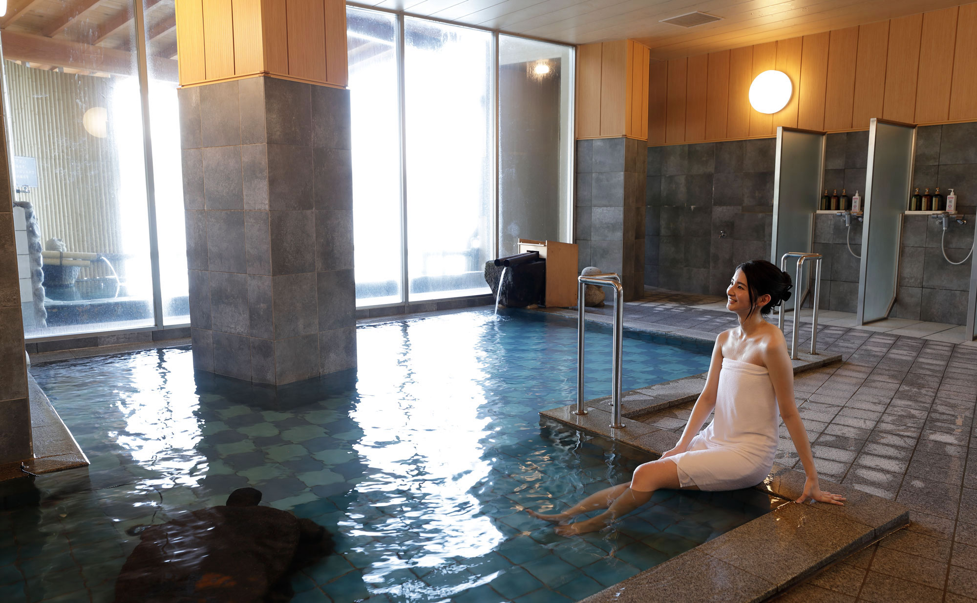 熱海温泉湯の宿平鶴 内風呂(大浴場)